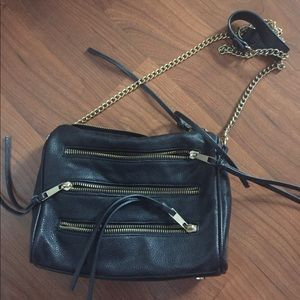 Forever 21 Black cross body bag
